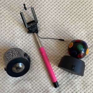 Led Lights/ Selfie Stick/ Disco ball